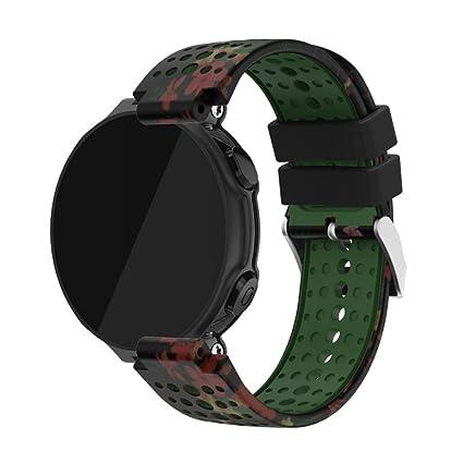 samlike Repuesto Sili cagel Soft banda Strap para reloj GPS Garmin ...