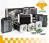 4 Axis Nema 34 Stepper Motor 1600 Oz.in DUAL & Driver Dm860a CNC Machine/mill