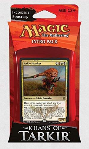Magic: the Gathering: Khans of Tarkir - Intro Pack / Theme Deck: Ankle Shanker (Alternate Art Premium Rare Promo) by GTS Distribution Ã'Â