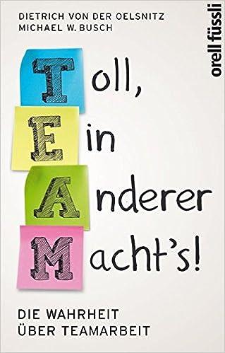 Cover des Buchs: Team: Toll, ein anderer macht's!: Die Wahrheit über Teamarbeit
