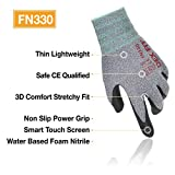 DEX FIT Nitrile Work Gloves FN330, 3D Comfort