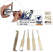 Draper 6/piezas Gancho extra long /& Pick Set