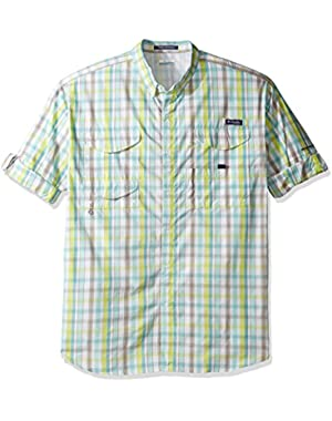 Men's Big Super Bonehead Classic Long Sleeve Shirt, Moxie Multi Gingham, 4X/Tall
