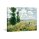 DIY Oil Painting Paint By Number Kits For Kids Wall Paintings-Monet Tea Tree Flowers 16x20 inch