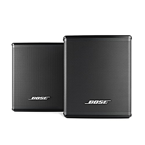 Bose Virtually Invisible 300 Wireless Surround Speakers (Pair, Black) (Surround Wireless Speakers)