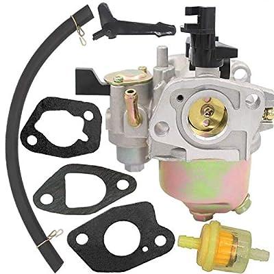 GX140 Carburetor for Honda 16100-ZE1-825 16100-ZE1-814 16100-ZH8-W61 16100-ZH7-W51 Honda EG1400 EZ1400XK1 EG2200X EG2500XK1 EZ2500 Honda GX160 GX168 GX168F GX200 - Honda GX160 Carburetor: Garden & Outdoor