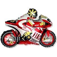 """Moto de carreras de moto globo 26 """"lámina"""