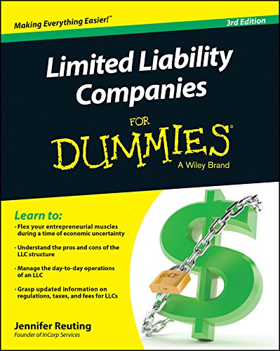 Limited Liability Companies For Dummies (Starting Llc)