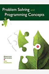 Problem Solving and Programming Concepts (2-downloads) Kindle Edition