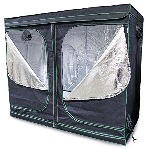 Urban Farmer 96x48x80 Reflective Mylar Hydroponic Grow Tent for Indoor Plant Growing