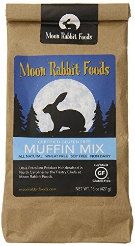 Moon Rabbit Gluten Free Good Morning Muffin Mix, 15-Ounce