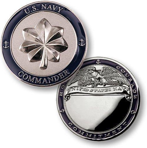 Commander Challenge Coin - Navy Commander