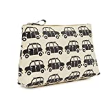 Pink Lining Wash Bag - Black Cabs by Pink Lining
