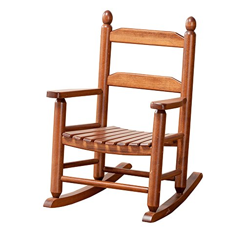 B&Z KD-20N Classic Wooden Child's Porch Chair Rocking Rocker Natural OAK Ages 3-7 -