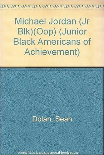 Ilmainen audio inspiroiva kirja ladataan Michael Jordan (Jr Blk)(Oop) (Junior Black Americans of Achievement) PDF ePub MOBI by Sean Dolan