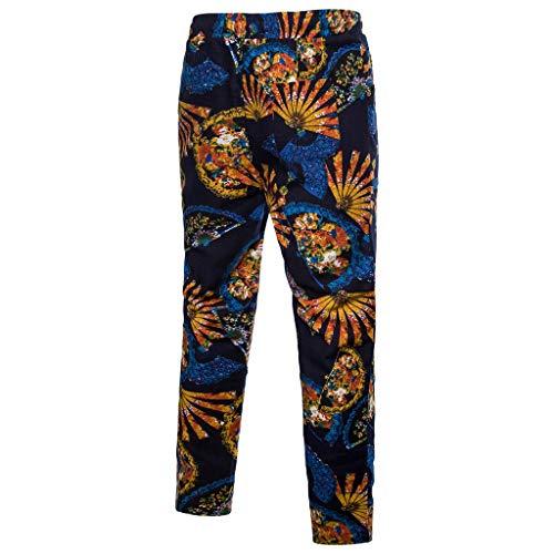 Orange Mode Pantalon Pantalons Confortable Grande La Folk Jogger Taille Hommes Harem Toute Sport Survêtement lin Longueur Casual Lâche Day De Vêtement personnalisé Uqwf1IvIx
