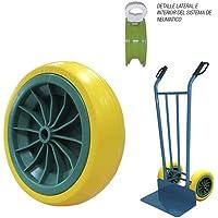 Transportadora y ruedas de patines