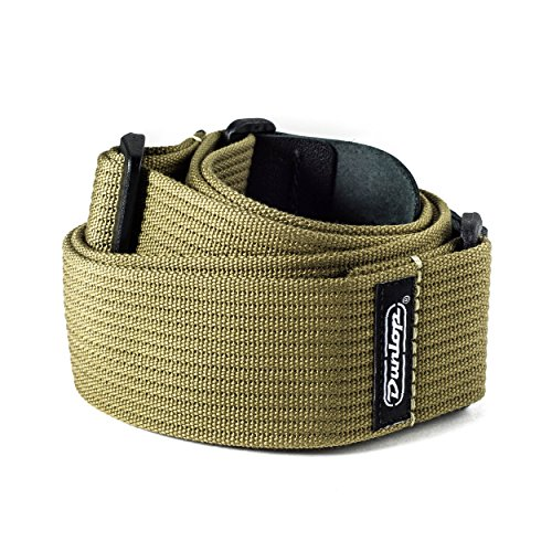 Dunlop Ribbed Cotton Strap Green