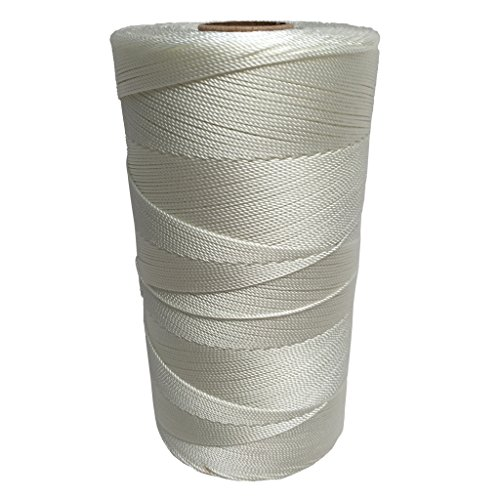 SGT KNOTS Twisted Nylon Seine Twine #6 100% Nylon Fiber- High Tensile Strength & Versatile Utility Twine - Crafting, Camping, Boating, Mason Line, Fishing, Hunting, Survival, Marine (3970 ft)