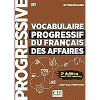 Vocabulaire progressif des affaires intermediaire B1 ksiazka + CD audio