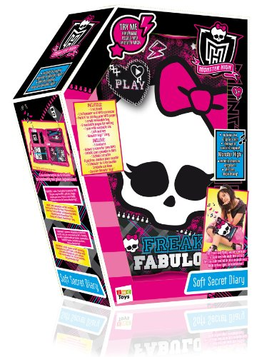 Monster High Soft Secret Lockable Diary with Music by IMC Toys