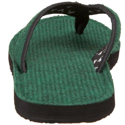 Sanuk Fur Real II Männer Flip Flop Farbe: Green Größe: 7US (39,5EU)