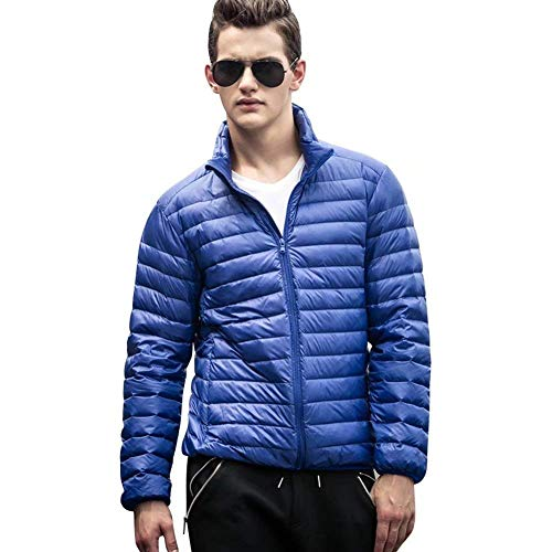 Clásico fashion Laisla Quilted Packable Jacket Boy Outerwear Men's Lightweight Jackets Long Bomber Down Blue Sleeve Down Jacket SCwvB