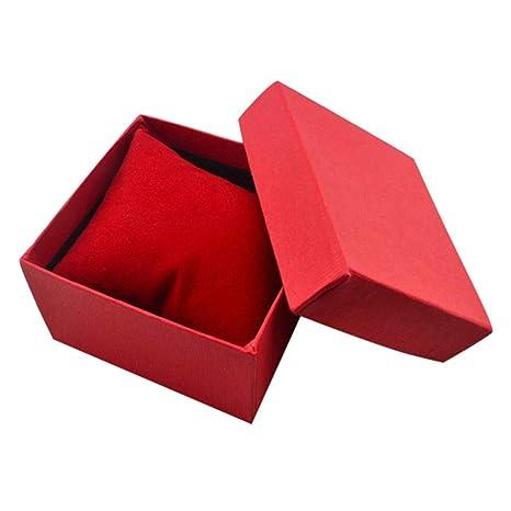 UK/_ NE/_ Jewelry Gift Box Ring Storage Earring Cardboard Flannelette Display Case