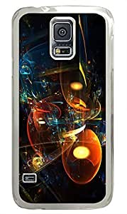 Samsung Galaxy S5 cassette cases Cool Abstract Id01 PC Transparent Custom Samsung Galaxy S5 Case Cover