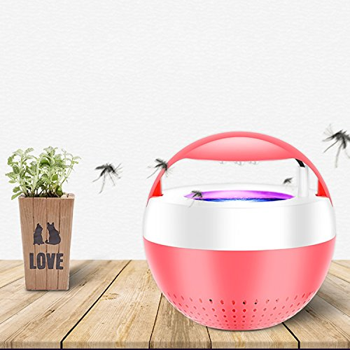 Jingjing1 Led Photocatalyst Mosquito Inhaler Silencer Indoor Home New USB Insect Killer (Red) by Jingjing1 (Image #1)