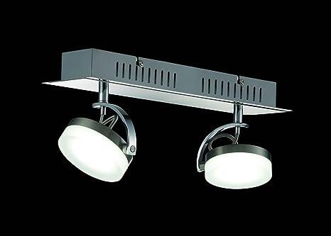 Plafoniere Per Studi Medici : 2 flammiger led soffitto plafoniera shine girevole spots