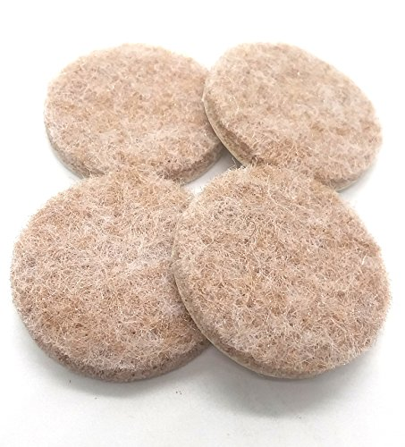 ng Silk Tone Felt Glide Pads For Hard Surface Protection WHOLESALE BULK LOT (Wholesale Curio Cabinets)