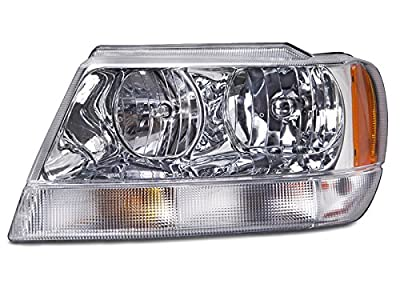 Jeep Grand Cherokee Limited New Chrome Driver Side Headlight