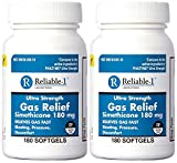 Best Gas Relief Pills - Simethicone 180 mg 360 Softgels Anti-Gas Generic Review
