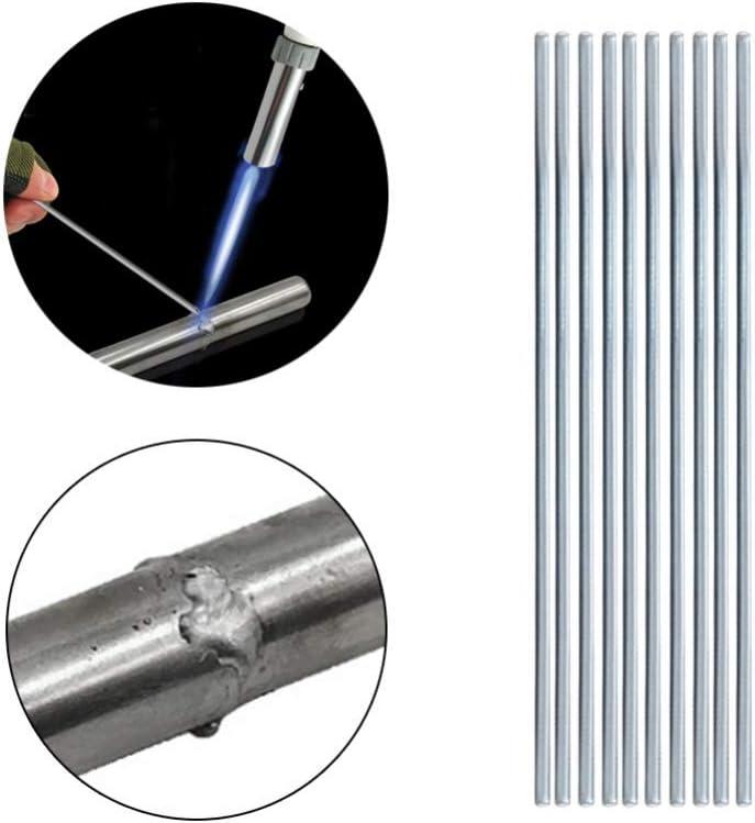 Mrinb Baguette pour Soudure Aluminium Basse Temp/érature,pour Souder 330 1.6mm,1//10//20//50pcs,Tige de Soudure de R/éparation pour la Soudure