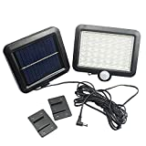 Anysell88 Solar Lamp Light 56 LED Power Motion Sensor Waterproof Outdoor Garden Path Security