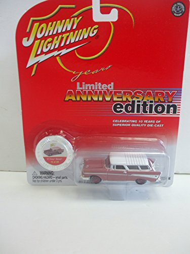 Johnny Lightning Limited Anniversary Edition '57 Chevy Nomad Car - #14 of 20 in Series by Johnny Lightning