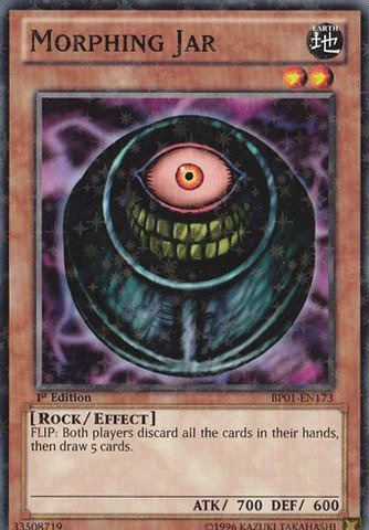 Yu-Gi-Oh! - Morphing Jar (BP01-EN173) - Battle Pack: Epic Dawn - Unlimited Edition - Starfoil Rare