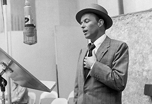 Frank Sinatra Poster Recording Studio Print Sinatra