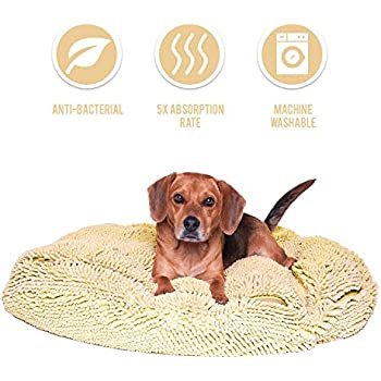 7e5b6ddd2507 My Doggy Place - Ultra Absorbent, Soft Comfort, Microfiber Chenille Dog Bed  Cushion Mat