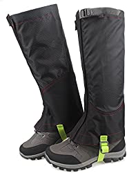 MAGARROW Unisex Adult Leg Gaiters Waterproof Snow Boot Gaiters Leg Cover for Outdoor Hiking Walking Hunting Cl