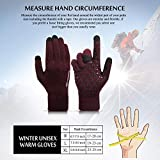 TRENDOUX Womens Gloves, Winter Glove for Men