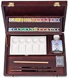 REMBRANDT ARTISTS' PROFESSIONAL BOX WATERCOLOUR 1/2 PAN SET [Toy]