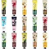 Hand Cream,Hand Lotion,15 Packs Travel Size Hand Cream Gifts Set For Dry Cracked Working Hands, Gifts for Women Mom Girls Wif