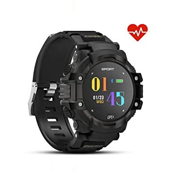 I Relojes inteligentes IP67 Resistente al agua Reloj deportivo inteligente Rastreador de ejercicios Dispositivos