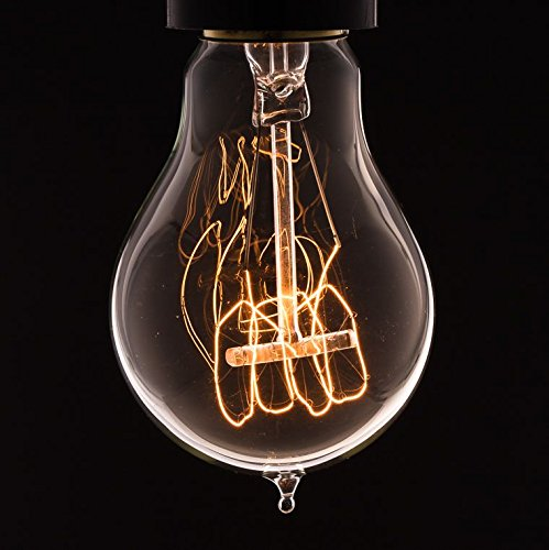 VINTAGE EDISON LIGHT BULB | quad loop filament | b22 bayonet | by Dowsing u0026  Reynolds: Amazon.co.uk: Kitchen u0026