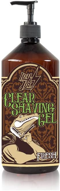 HEY JOE - Clear Shaving Gel 250 ml FRESH EDITION| Gel de afeitado transparente 250 ml FRESH EDITION