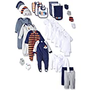 Gerber Baby 30 Piece Registry Essentials Gift Set, Sports, New Born