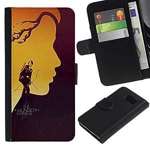 All Phone Most Case / Oferta Especial Cáscara Funda de cuero Monedero Cubierta de proteccion Caso / Wallet Case for Samsung Galaxy S6 // Hung3r Games