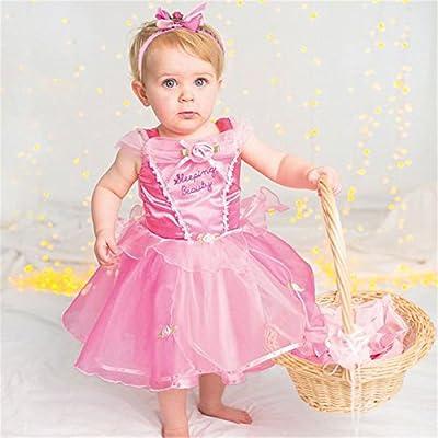 Amazon.com: Disney Princesa Bella Durmiente Vestido 2 años ...